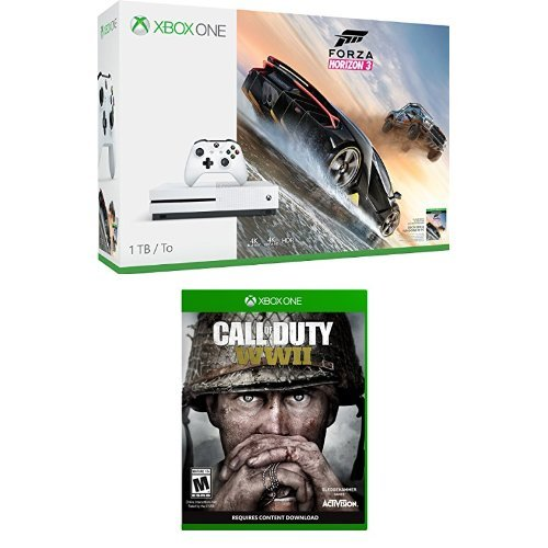 xbox one s 1tb console forza horizon 3 bundle call of duty ww2 console ps4. Black Bedroom Furniture Sets. Home Design Ideas